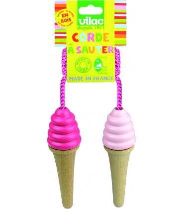 Corde à sauter crème glacée - Vilac