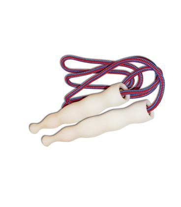 Corde à sauter professionnelle et fitness avec poignées lestées - Payan Conception