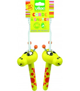 Corde à sauter paf la girafe - Vilac